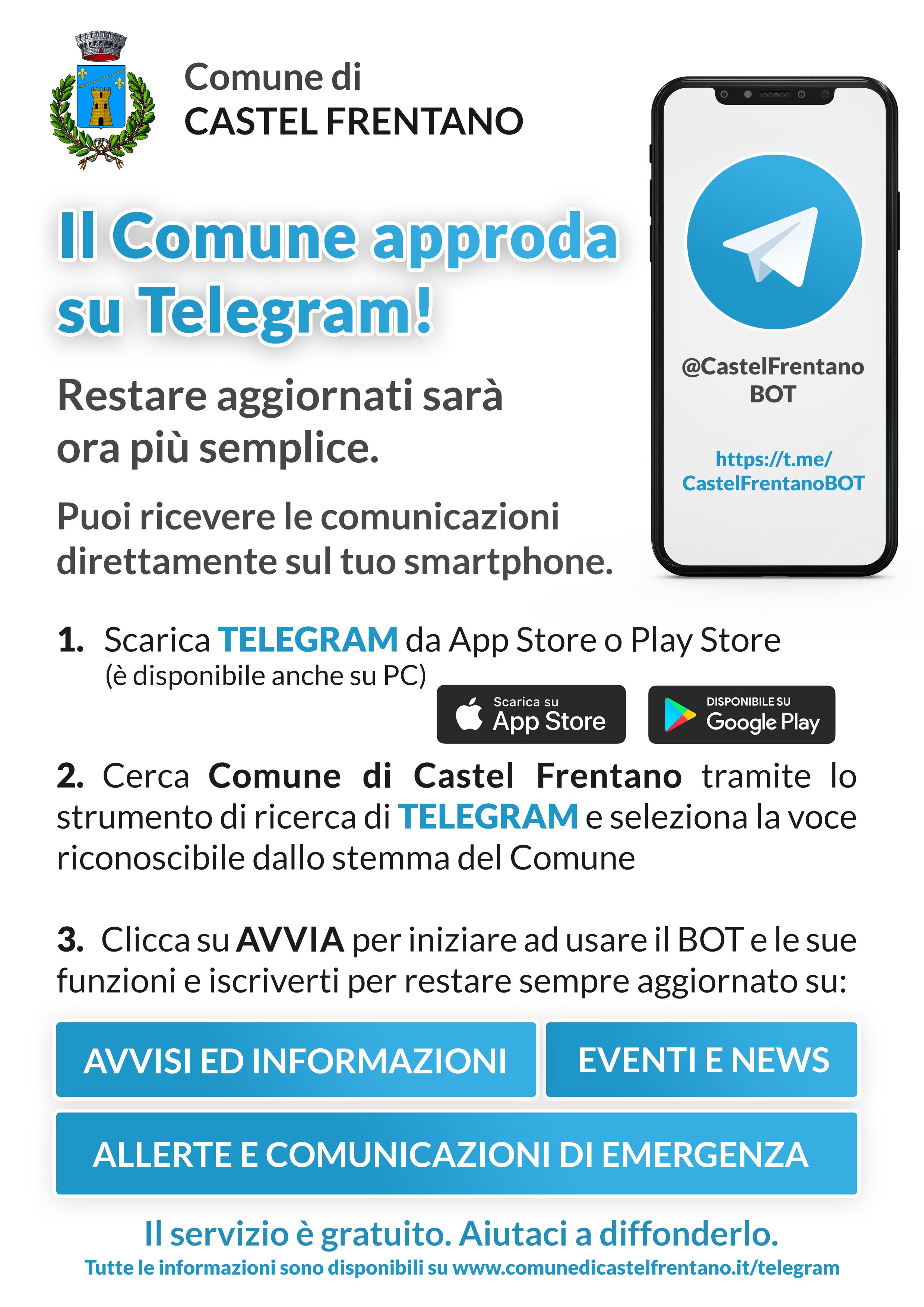 Locandina Telegram