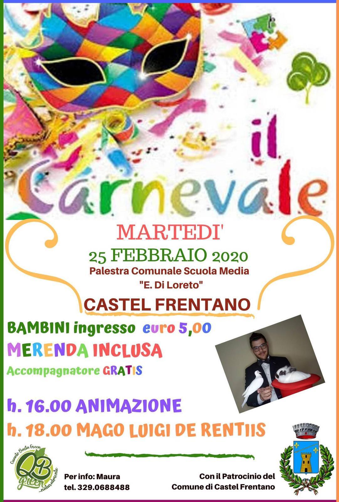 Locandina Carnevale 2020