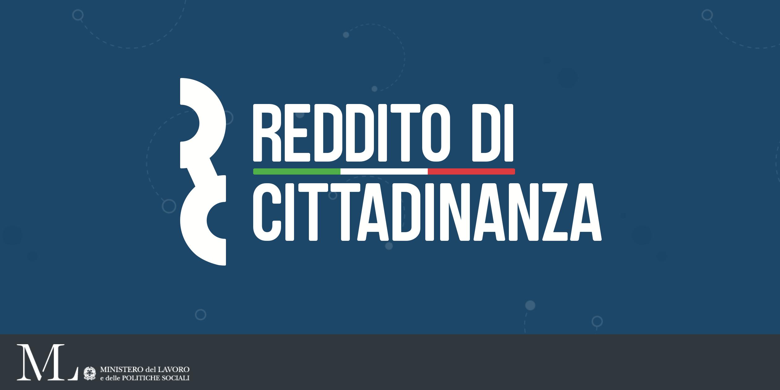 Logo Reddito di cittadinanza