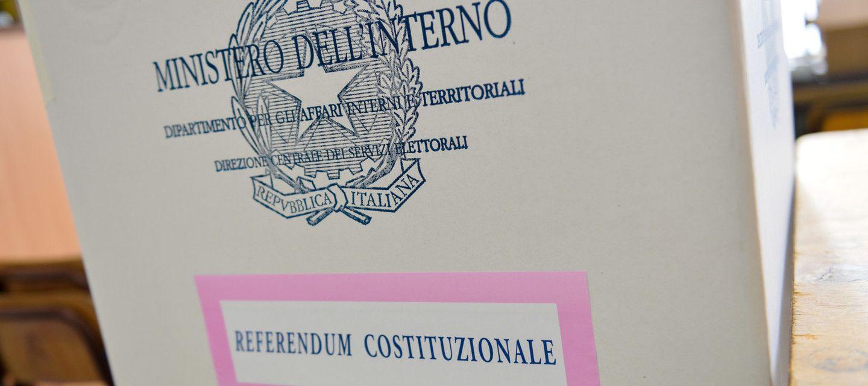 Urna referendum costituzionale
