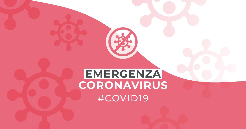 Banner di accesso alla sezione Coronavirus